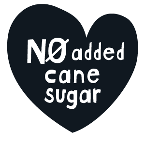 No added cane sugar