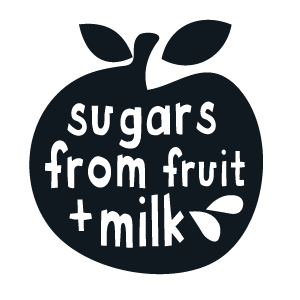 Sugars from fruit milk