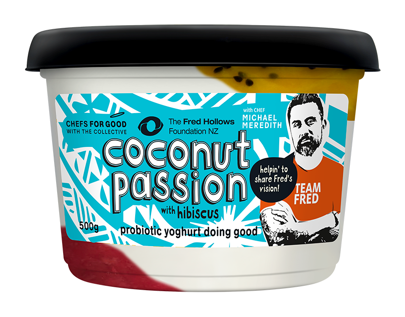 coconut passion with hibiscus